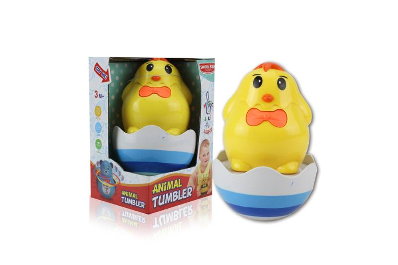 Novelty toy musical tumbler with lights No.TA259113