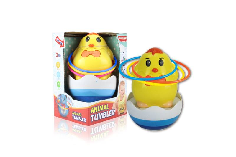 Novelty toy musical tumbler with lights No.TA259114