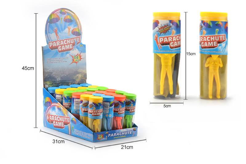 Novelty toy four-color parachute No.TA260593