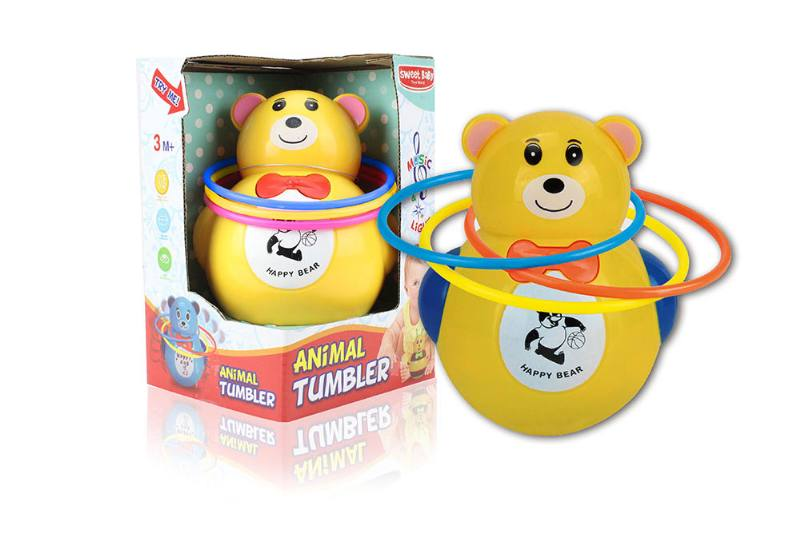 Bear music light tumbler (with circle) NO.TA262250