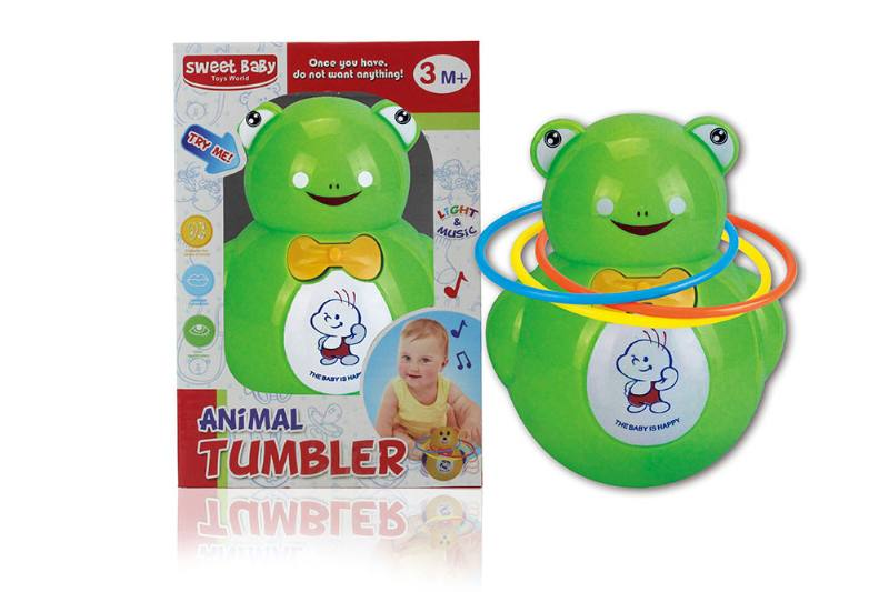 Frog music light tumbler (with circle) NO.TA262264