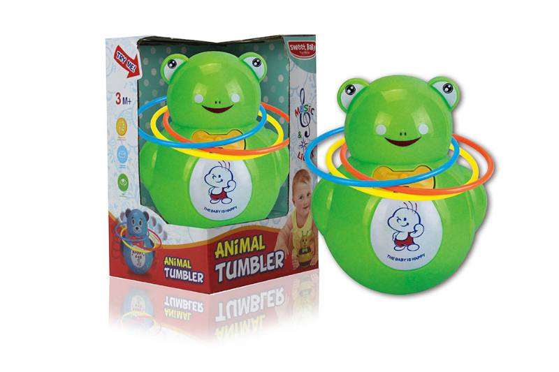Frog music light tumbler (with circle) NO.TA262266