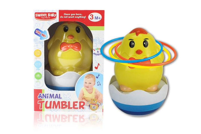 Chick music light tumbler (with circle) NO.TA262276
