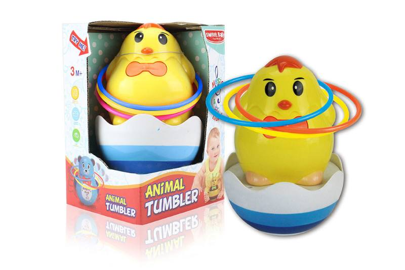 Chick music light tumbler (with circle) NO.TA262278