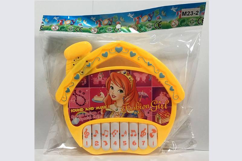 Fashion princess (non-infringing) house keyboard music instrument toy No.TA254741
