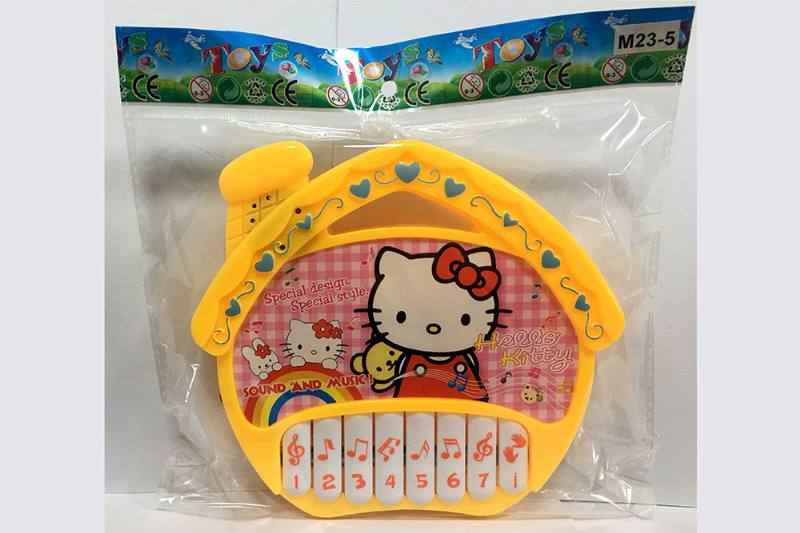KT cat house keyboard music instrument toy No.TA254744