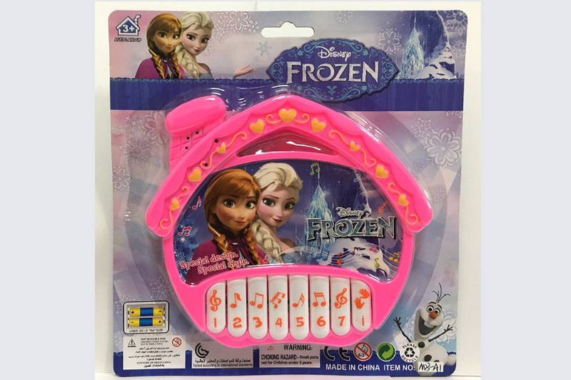 Frozen house keyboard music instrument toy No.TA254747