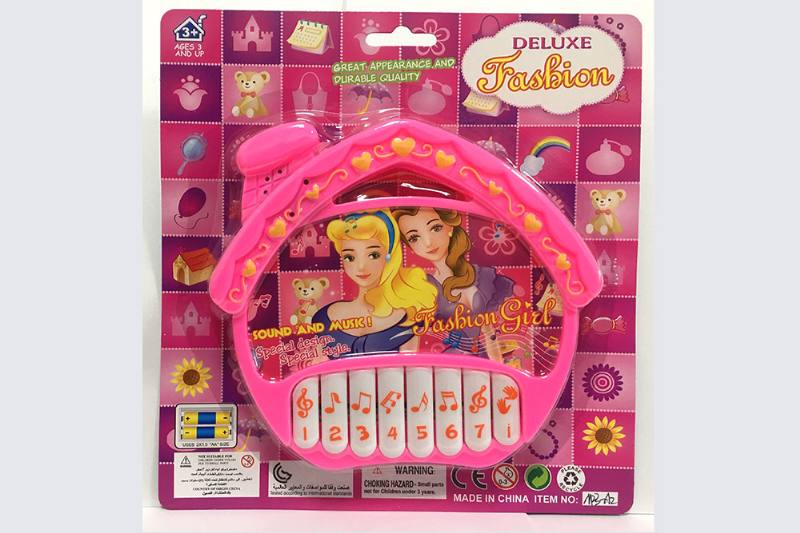 Fashion princess (non-infringing) house keyboard music instrument toy No.TA254748