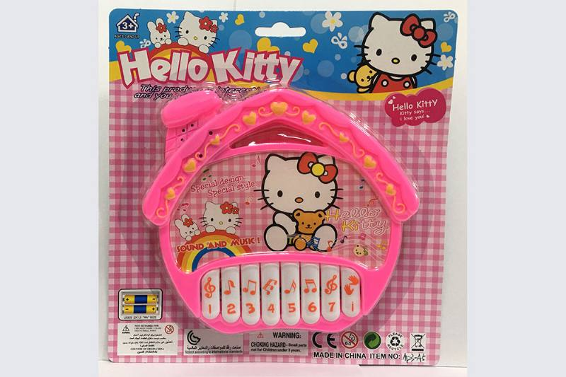 KT cat house keyboard music instrument toy No.TA254751