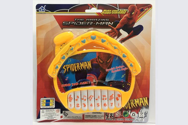 Spiderman House Keyboard Music Instrument Toys No.TA254753