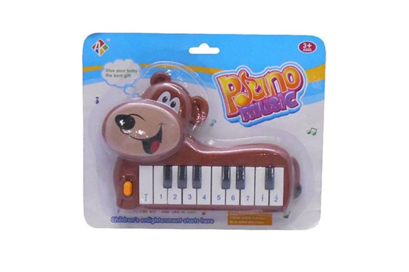 Musical instrument toy keyboard (bear) No.TA257249