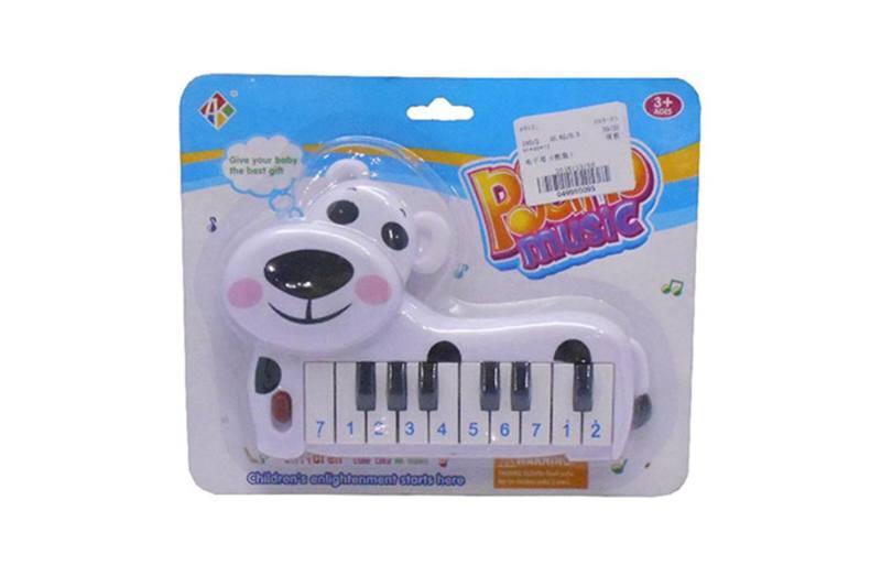 Musical instrument toy electronic piano (panda) No.TA257250