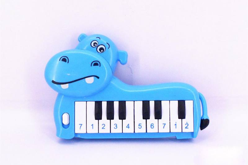 Musical instrument toy electronic organ (hippo) No.TA257251