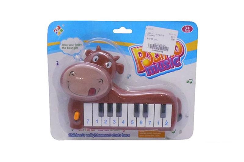 Musical instrument toy electronic piano (cattle) No.TA257253