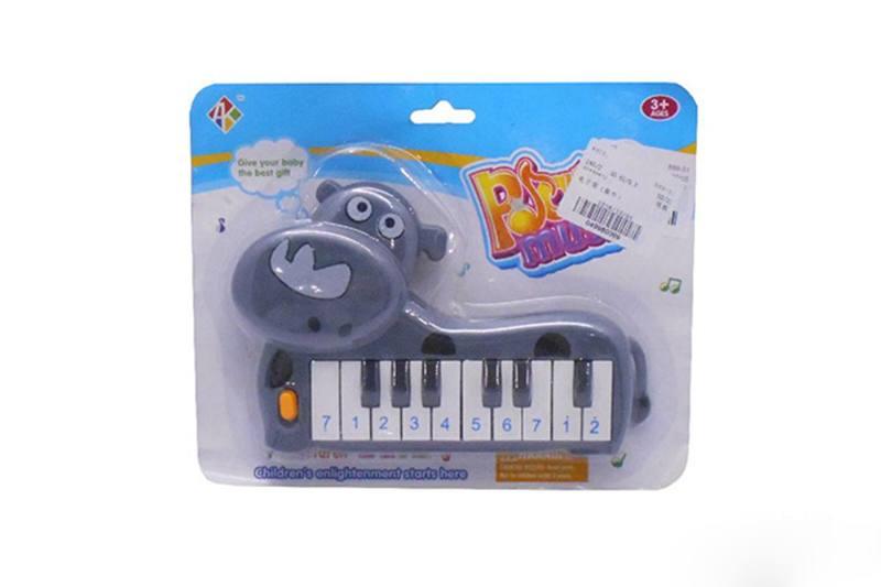 Musical instrument toy keyboard (rhino) No.TA257254