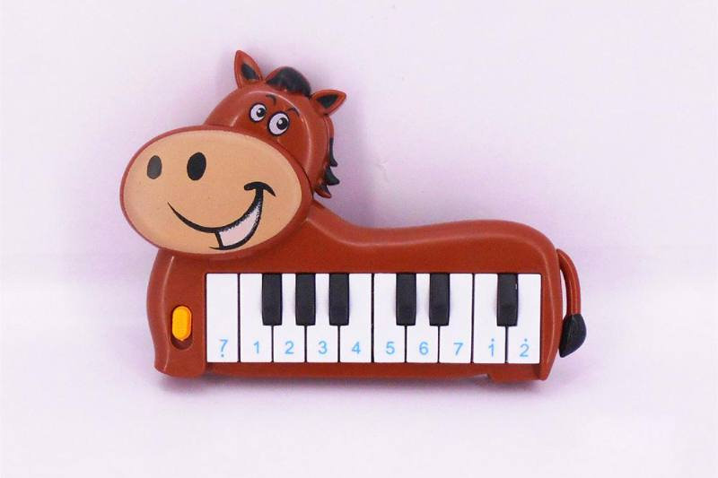 Musical instrument toy electronic piano (horse) No.TA257255