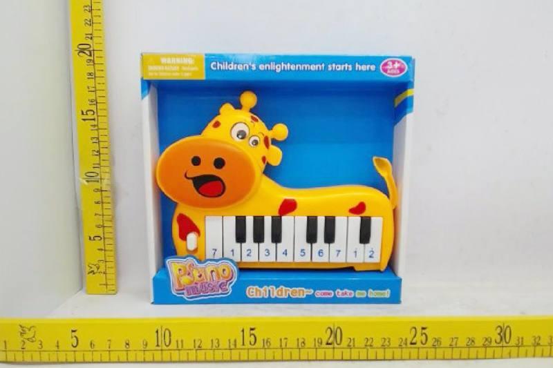Musical instrument toy electronic piano (giraffe) No.TA257256