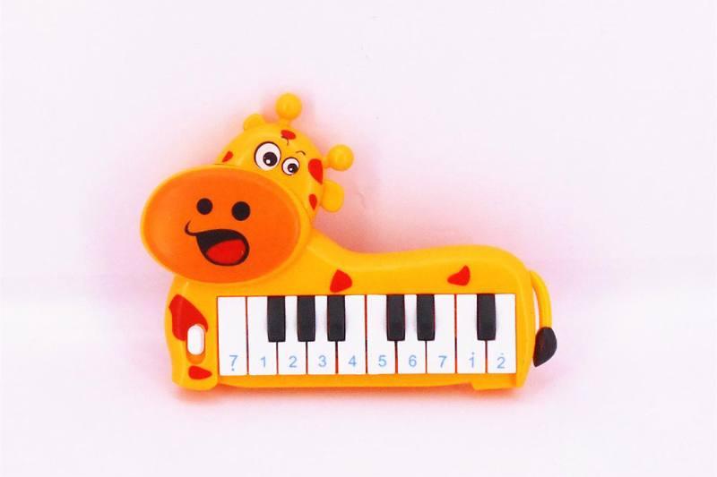 Musical instrument toy electronic piano (giraffe) No.TA257257