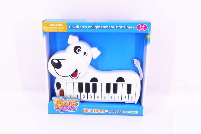 Musical instrument toy electronic organ (dalmatian) No.TA257260