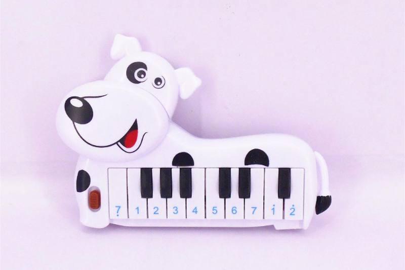 Musical instrument toy electronic organ (dalmatian) No.TA257261