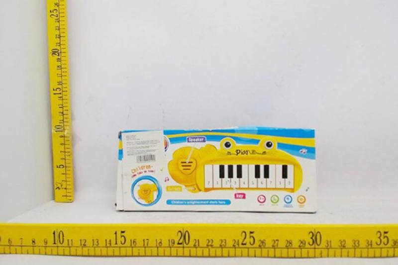 Musical instrument toy frog keyboard No.TA257269