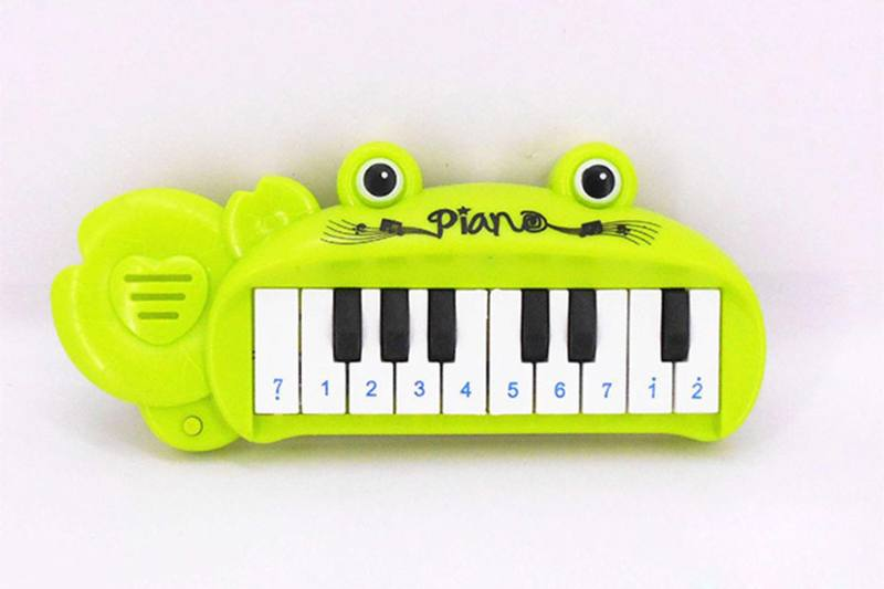 Musical instrument toy frog keyboard No.TA257270