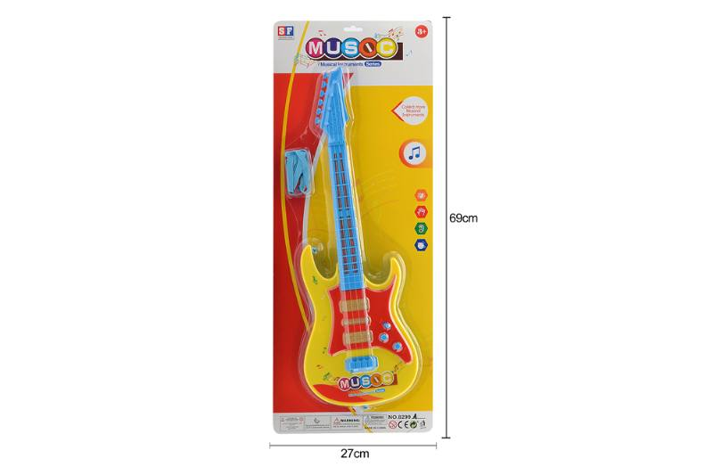 Educational music instrument toys guitar with lightsNo.TA255876
