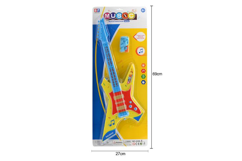 Educational music instrument toys guitar with lightsNo.TA255877