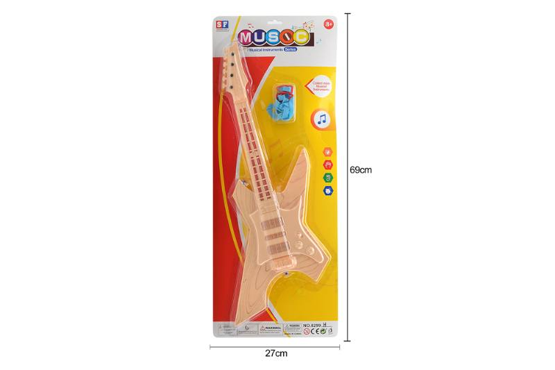 Puzzle early education instrument toy light music guitar No.TA258523