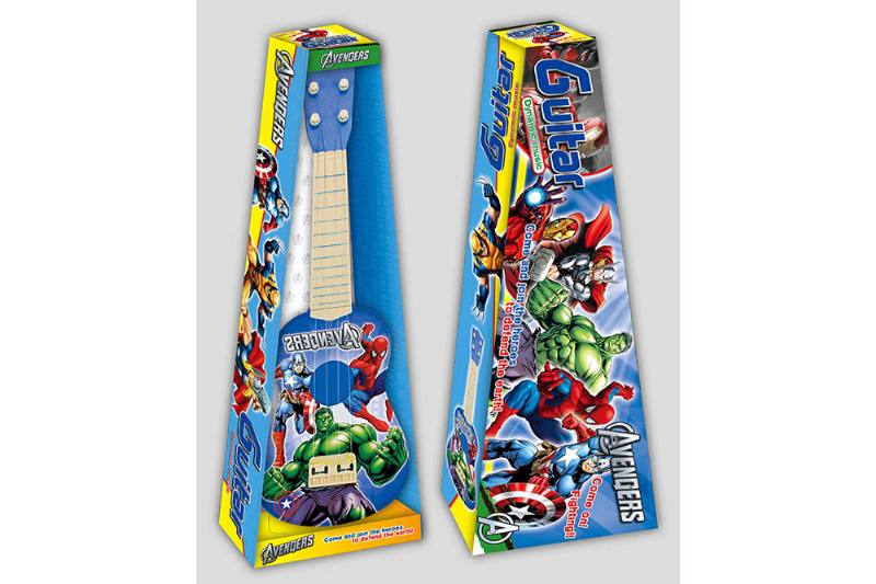 Early childhood educational toys Avengers guitar No.TA259138