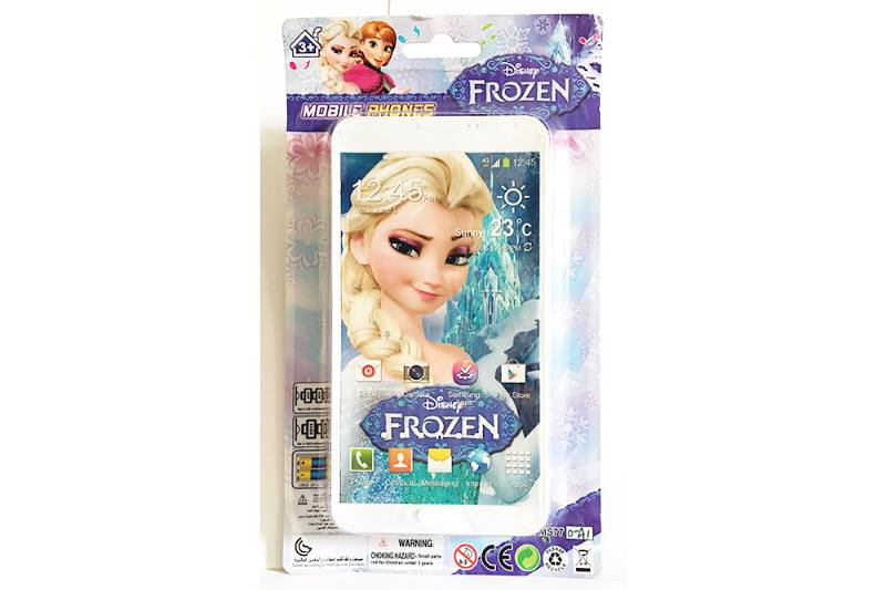 Music mobile phone toy Snow Princess Samsung music phone No.TA254613