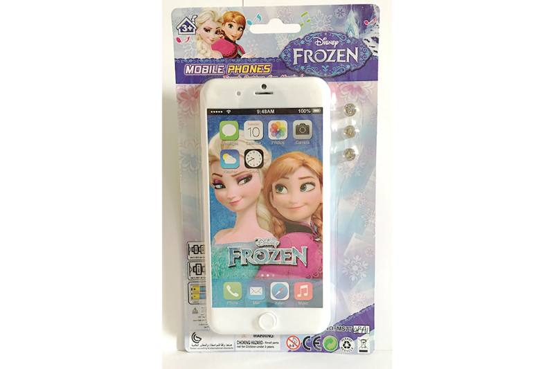 Music mobile phone toy ice romance apple 8P music mobile phone No.TA254625
