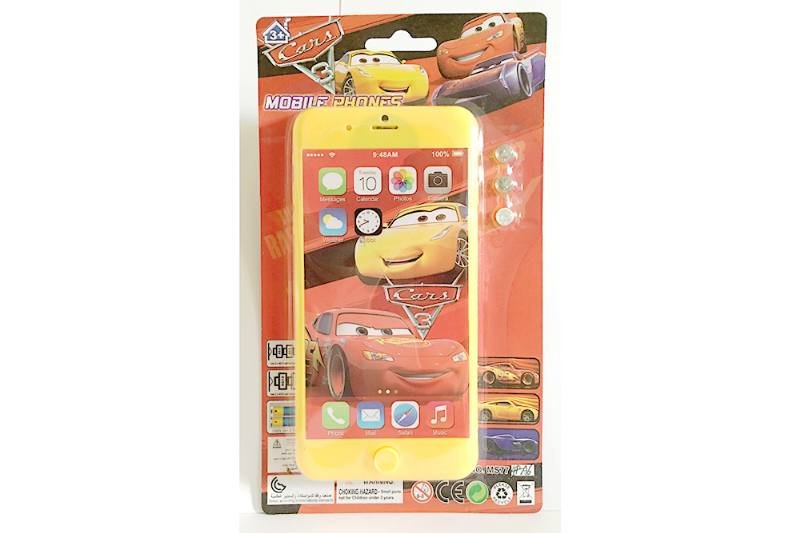 Music mobile phone toy Car Story Apple 8P music phone No.TA254628