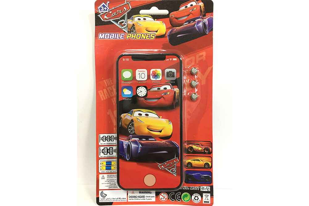 Music mobile phone toy Car Story Apple XS full screen music phone No.TA261556
