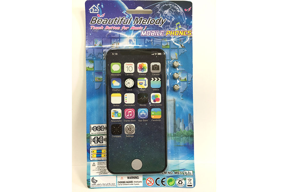 Music mobile phone toy simulation (non-infringement) Apple XS full screen music  No.TA261559