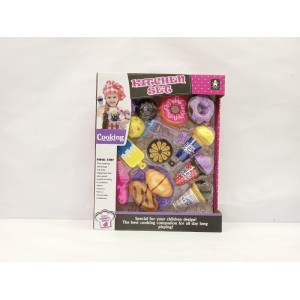 New toys for kid cute sweet food kitchen toy set No.:6687-8