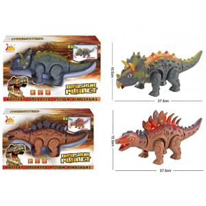 High sales electric dinosaur with two mixed kid interesting toys  No.:RS6194/RS6195