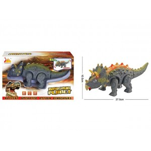 New style electric triceratops battery  operated action dinosaur toy  No.:RS6194