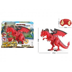 SIMULATION OF THE WESTERN DRAGON INFRARED R/C WITH SOUND AND LIGHT DINOSAUR TOY Item No.:RS6139