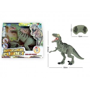 RARE EDITION VELOCIRAPTOR INFRARED R/CWITH SOUND AND LIGHT DINOSAUR TOY Item No.:RS6126A
