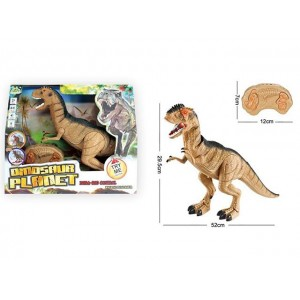 PLEURON INFRARED REMOTE CONTROL WITH SOUND AND LIGHT DINOSAUR TOY Item No.:RS6121A