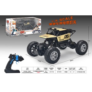 1:16 climbing four-wheel drive RC remote control metal cars with lights included battery No.FD055A-