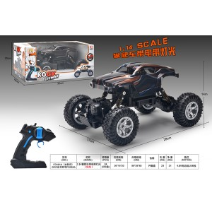 1:16 climbing four-wheel drive RC remote control cars with lights included battery No.FD055A-1