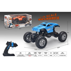 1:16 climbing four-wheel drive RC remote control simulation cars with lights included battery No.FD055A-2