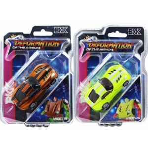 New producy small alloy deformation car toy Item No.:A9001-19/20