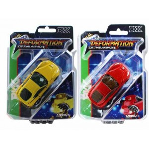 Ferrari small alloy car shape color red and yellow kid toys Item No.:A9001-13/14
