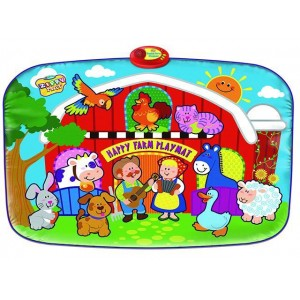 New product Happy Farm play mat children creative toys Item No.:SLW981