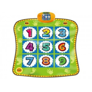 High quanlity dance carpet and number educational toy Item No.:SLW9886