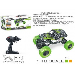 1:18 scale rally car include battery and USB charger crawler children toy Item No.:SL-139A
