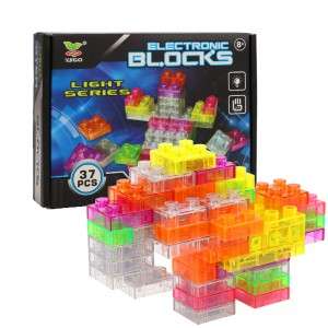 Electricity Building Blocks with Lights 37PCS YS2960B